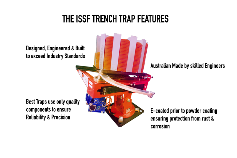 ISSF Trench Trap Best Trap feature